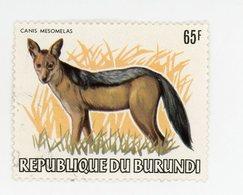 Burundi 1983Chien Nr 860 De La Série Dégommé - 1980-89: Oblitérés