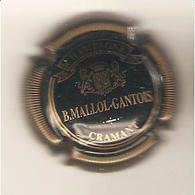 CAPSULE MUSELET CHAMPAGNE MALLOL GANTOIS ( Or Sur Noir ) - Autres