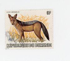 Burundi 1983-WWF-Chien-timbre Nr 873-Oblitéré - 1980-89: Oblitérés