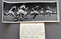Rugby à XV  Irlande Bat La France à Colombes En  1952 Photo Presse 90x240 - Sports