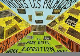 HYERES LES PALMIERS. EXPOSITION 1885 / 1985 CP. 1985. - Collector Fairs & Bourses