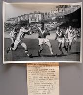 Rugby à XIII   France Bat Angleterre Au Parc Des Princes En  1952 Photo Presse 240x180 - Sports