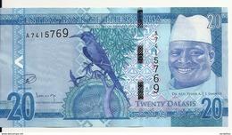 GAMBIE 20 DALASIS ND2015 UNC P 33 - Gambia