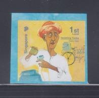 Singapore 2013 Dairy Man Bicycle Booklet Stamp**9th Reprint (Imprint 2017J) MNH - Singapore (1959-...)