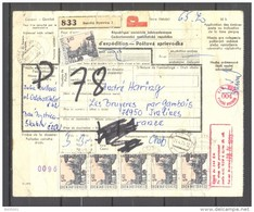 Bulletin D'Expédition - Tchecoslovaquie / Ceskoslovensk - Envoi Banska Bystrica Vers Gambais - 24/04/1973 - Lettres & Documents