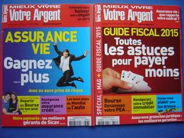 2 Mieux Vivre Votre Argent : 10/2014 + 02/2015 - Boeken, Tijdschriften, Stripverhalen