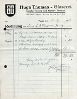 3527 - Penig - Hugo Thomas Glaserei - Rechnung 1937 - Germany