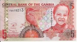 GAMBIE 5 DALASIS ND2013 UNC P 25 - Gambie