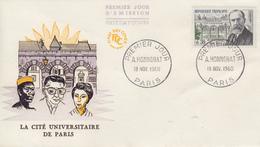 Enveloppe  FDC  1er  Jour   FRANCE   André   HONNORAT   1960 - 1960-1969