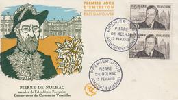 Enveloppe  FDC  1er  Jour   FRANCE   Pierre  De  NOLHAC    AMBERT   1960 - 1960-1969