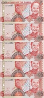 GAMBIE 5 DALASIS ND2013 UNC P 25 ( 5 Billets ) - Gambie