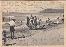 APUANIA -MARINA DI CARRARA 1942 SPIAGGIA - Carrara