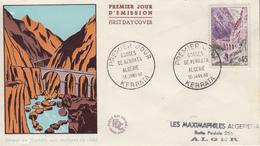 Enveloppe  FDC  1er  Jour   FRANCE   Gorges  De  KERRATA  1960 - 1960-1969