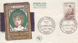 Enveloppe   FDC  1er Jour  FRANCE   Oblitération  Grand  Format    Madame  De   STAËL   1960 - 1960-1969