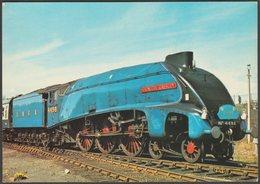 LNER Class A4 Streamlined Pacific No 4498 Sir Nigel Gresley - Dennis Postcard - Trains