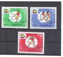 OST1405 ALBANIEN 1987  MICHL 2342/44 Postfrisch SIEHE ABBILDUNG - Albanien