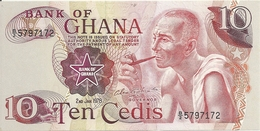 GHANA 10 CEDIS 1978 UNC P 16 F - Ghana