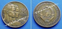 YUGOSLAVIA  JUGOSLAVIJA  50 Dinara 1955 - Yougoslavie