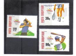 OST1402 ALBANIEN 1992  MICHL 2502/04 Postfrisch SIEHE ABBILDUNG - Albanien