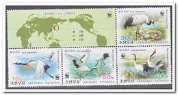 Noord Korea 2014, Postfris MNH, Birds, WWF - Korea (Noord)