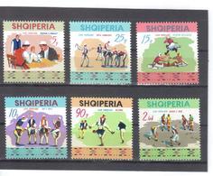 OST1452 ALBANIEN 1972  MICHL  1570/75  ** Postfrisch SIEHE ABBILDUNG - Albanien