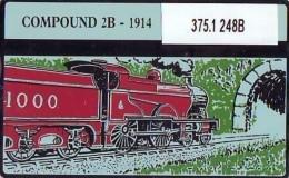 Telefoonkaart  LANDIS&GYR NEDERLAND * RCZ.375.1 T/m 06  248b * TREINEN SERIE  6 STUKS * TRAINS  * TK * ONGEBRUIKT * - Trains
