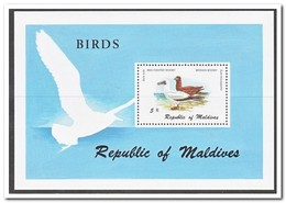 Maldiven 1980, Postfris MNH, Birds - Maldiven (1965-...)