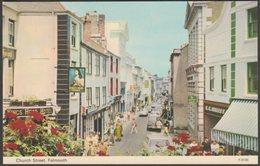 Church Street, Falmouth, Cornwall, C.1960s - ETW Dennis Postcard - Falmouth