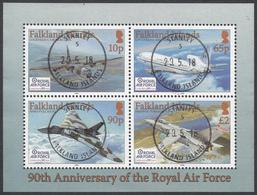 FALKLAND ISLANDS  Michel  BLOCK 37  Very Fine Used - Falkland