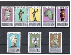 OST1474 ALBANIEN 1974  MICHL 1747/54 Postfrisch SIEHE ABBILDUNG - Albania