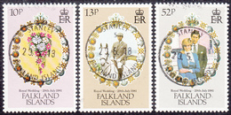FALKLAND ISLANDS  Michel  326/28  Very Fine Used - Falkland