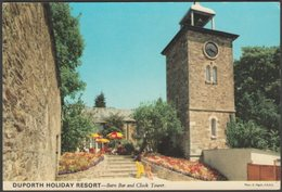 Barn Bar And Clock Tower, Duporth Holiday Resort, Cornwall, 1977 - John Hinde Postcard - England