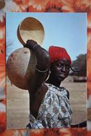 AFRICA - Afrique > Haute Volta Burkina Faso  - Aribinda Jeune Fille - Old Postcard - Burkina Faso