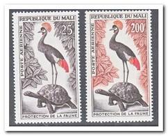 Mali 1963, Postfris MNH, Birds, Turtles - Mali (1959-...)