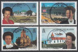 FALKLAND ISLANDS  Michel  664/67  Very Fine Used - Falkland