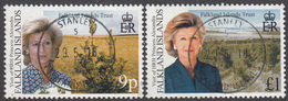 FALKLAND ISLANDS  Michel  774/75  Very Fine Used - Falkland