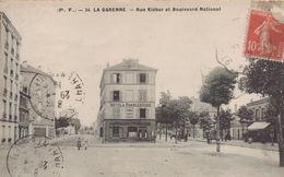 La Garenne Colombes : Rue Kléber Et Boulevard National - La Garenne Colombes