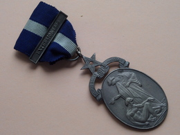 EXTENTION 1956 - Aecros Sanat Humanitas ( Bro.G.R.ROLFE. N° 5912 ) MASONIC ( 35.1 Gr. - See Photo ) Medal ! - Jetons & Médailles