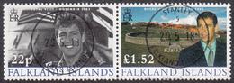 FALKLAND ISLANDS  Michel  863/64  Very Fine Used - Falkland