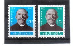 OST1468 ALBANIEN 1966  MICHL 1119/20 Postfrisch SIEHE ABBILDUNG - Albanien