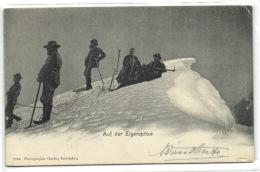 1 Postcard Berne Auf Der Eigerspitze - BE Berne