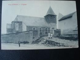 FIZE DE MARSAL: L'église En 1922 - Crisnée