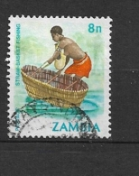 ZAMBIA      1981 Traditional Living    USED - Zambie (1965-...)
