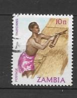 ZAMBIA      1981 Traditional Living    USED - Zambia (1965-...)