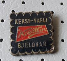 KOESTLIN Bjelovar Biscuit, Cookies  And Waffle Factory Croatia Ex Yugoslavia Pins - Food