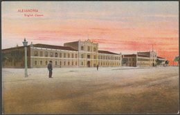 English Casern, Alexandria, C.1905 - Cairo Postcard Trust Postcard - Alexandria