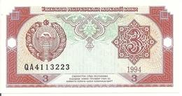 OUZBEKISTAN 3 SUM 1994 UNC P 74 - Uzbekistan