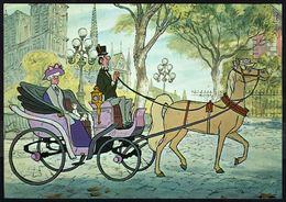 WALT DISNEY - ARISTOCHATS / ARISTOCATS (3) - Mme BONFAMILLE Et EDGARD - Non Circulé - Not Circulated - Nicht Gelaufen. - Disney