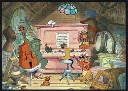 WALT DISNEY - ARISTOCHATS / ARISTOCATS (4) - Mme BONFAMILLE Et EDGARD - Non Circulé - Not Circulated - Nicht Gelaufen. - Disney