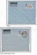 Honduras Belize Aérogramme N°2 + CTO Aerogram Air Letter Entier Entero Ganzsache Lettre Carta Belege Airmail Cover - British Honduras (...-1970)